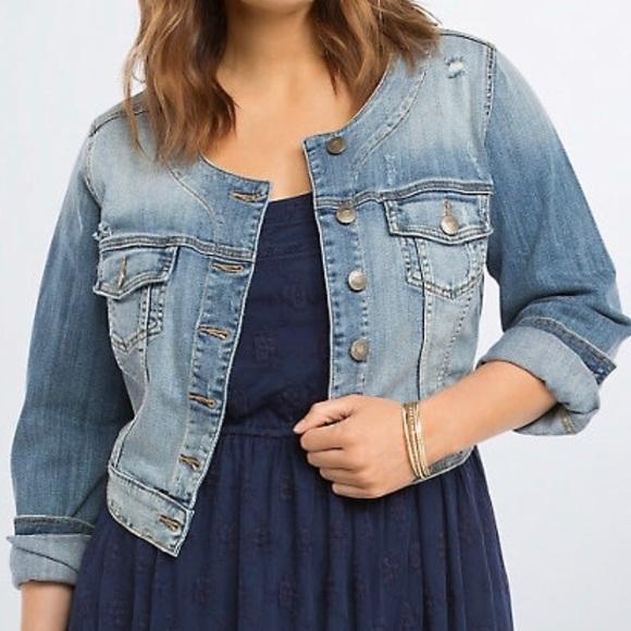 Denim Jackets & Coats   Cut offs, Cropped & Collarless